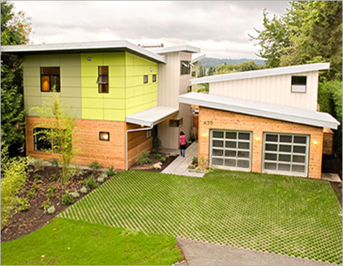 Seattle company offers modern prefab home kits with sips for Structural insulated panel house kits